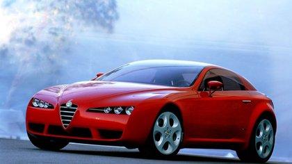 Alfa Romeo Brera, la última gran creación que hizo para la marca italiana.