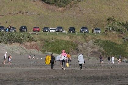 Las playas en Nueva Zelanda (Reuters/ Ruth McDowall)
