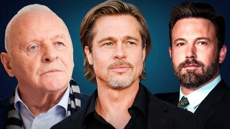 Anthony Hopkins, Brad Pitt y Ben Affleck