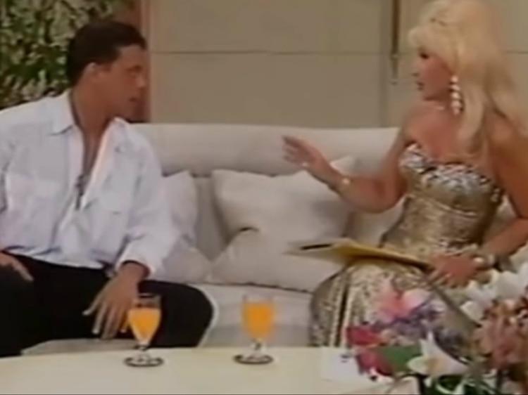Luis Miguel alabó la belleza de Susana Giménez (You Tube)