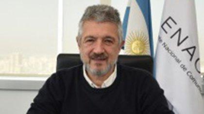 Gustavo López, vicepresidente de Enacom