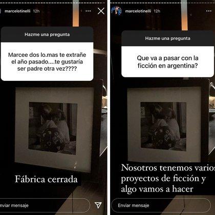 La paternidad y el futuro de la ficción, más preguntas para Marcelo Tinelli (Foto: Instagram @marcelotinelli)