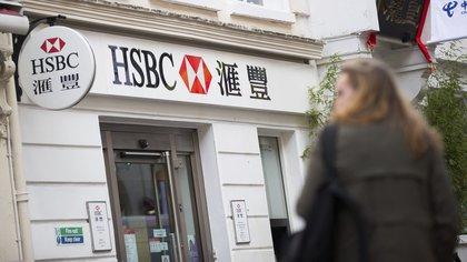 Sucursal del HSBC en Londres (Reino Unido). EFE/Andrew Cowie/Archivo