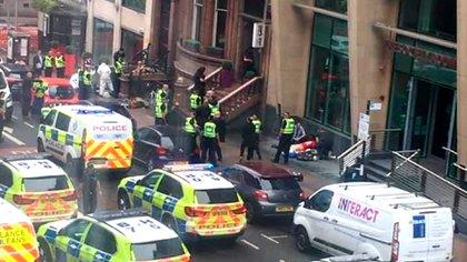 La Policía abatió al atacante en Glasgow