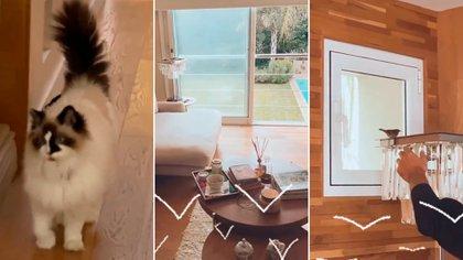 """El divertido incidente doméstico en la lujosa casa de Araceli González y Fabián Mazzei: """"Se me puso la piel de gallina"""""""