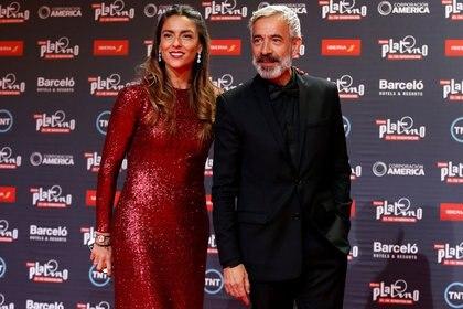 Imanol Arias junto a Irene Meritxell (Reuters)