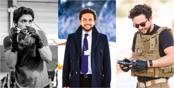 Hussein bin Al Abdullah, el futuro heredero de Jordania, tiene cerca de un millón de seguidores en sus redes sociales,ama el fútbol y se ha unido a distintas labores caritativas alrededor del mundo