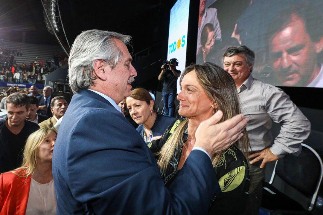Alberto Fernández designó a Malena Galmarini como presidenta de AYSA