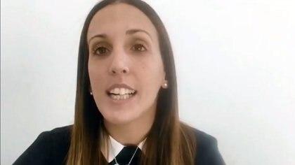 Agustina Cosachov, psiquiatra de Maradona.