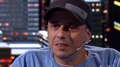 El Dipy pasó por el programa de Jorge Rial (Foto: TV Nostra, América)
