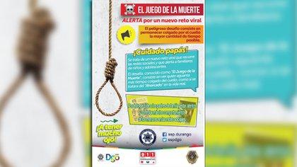La advertencia realizada por autoridades mexicanas