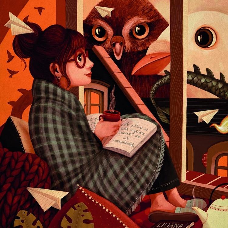 Los ilustradores homenajean a Liliana Bodoc - Infobae