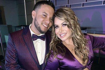"Lorenzo Méndez y ""Chiquis"" Rivera se casaron en junio de 2019 (Instagram: lorenzomendez7)"