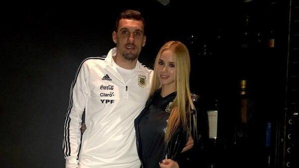 Franco Armani y Daniela Rendon están juntos hace 7 años. (Foto: Instagram)