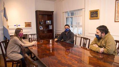 Hace menos de un mes, Grabois se reunió con la ministra Sabina Frederic