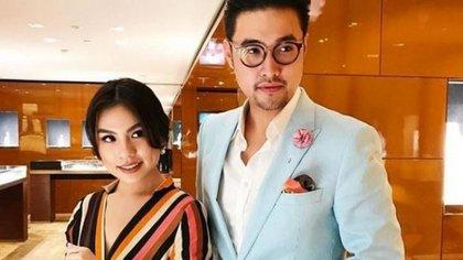 La pareja hace parte de la alta sociedad de Indonesia.