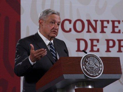 """""""Les digo a mis paisanos que tomen precauciones, dijo el presidente (Foto: Cuartoscuro)"""