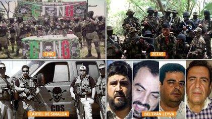 Las autoridades mexicanas advierten del avance de  organizaciones criminales (Foto: Especial)