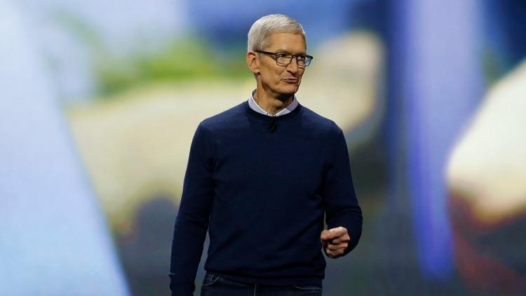 Tim Cook, CEOde Apple (REUTERS/Stephen Lam)