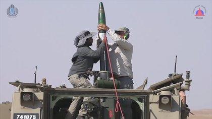 La munición usada por el ejército