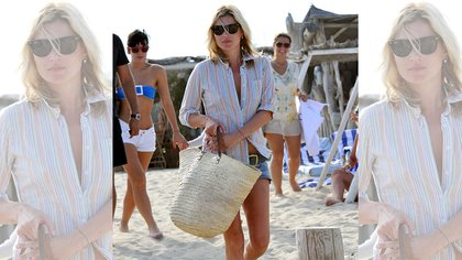 Kate Moss, siempre trendy.  162