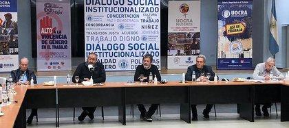 La crisis de las obras sociales se debatió durante la última reunión de la CGT, en la UOCRA