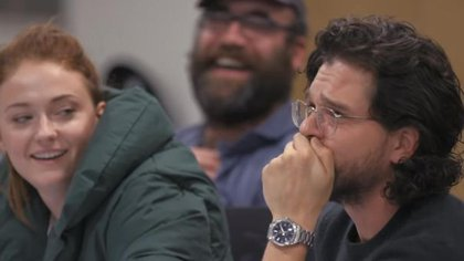 """La emoción de Kit Harington al conocer el final de """"Game of Thrones"""""""
