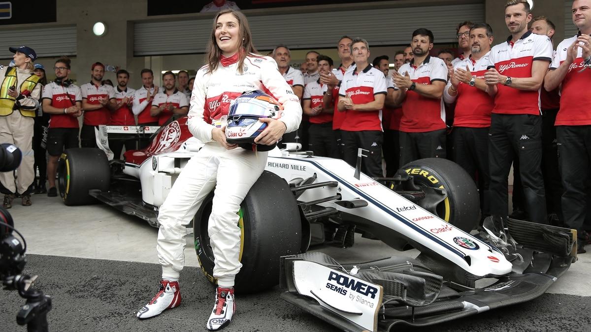 """Tatiana Calderón, la primera mujer latinoamericana que llegó a la Fórmula 1: """"Nos ganamos un lugar en los puestos más altos"""""""