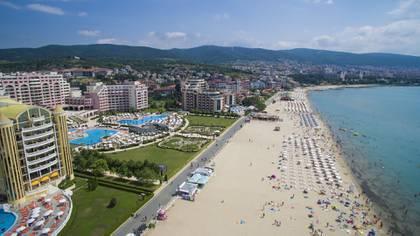 Sunny Beach, importante balnerario en Bulgaria (Shutterstock)