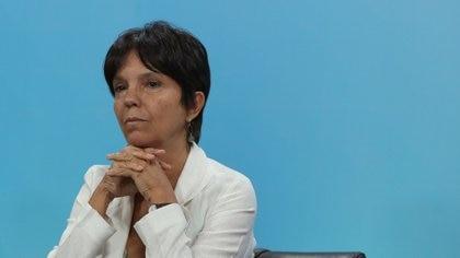 La directora de la AFIP, Mercedes Marcó del Pont, sólo recibe buenas noticias por el lado de la percepción del Impuesto PAIS (Prensa Presidencia)