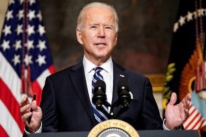 El presidente Joe Biden encabezará la cumbre virtual sobre el cambio climático (REUTERS/Kevin Lamarque)