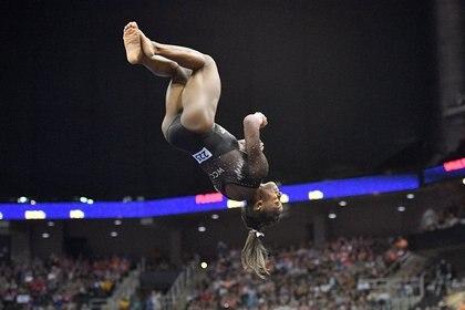 La atleta de Ohio se consagró campeona por sexto año consecutivo (USA TODAY Sports)