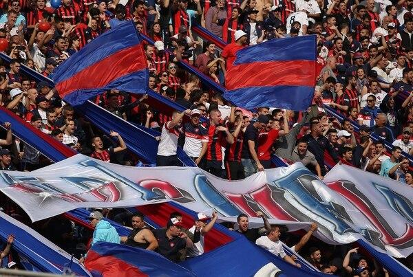 Los integrantes de la barra brava del Zenit, el Dynamo y el Estonia también estuvieron en San Lorenzo