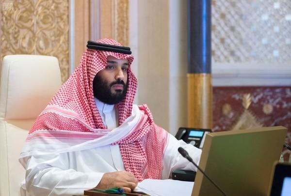 El príncipe Mohammed bin Salman, verdadero hijo del rey Salman, actual monarca de Arabia Saudita (Reuters)