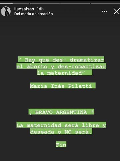 Ilse Salas vía Instagram (@ilsesalas)