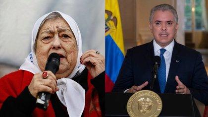Madres de Plaza de Mayo señalan a Duque de reprimir a los colombianos y justificar los abusos policiales