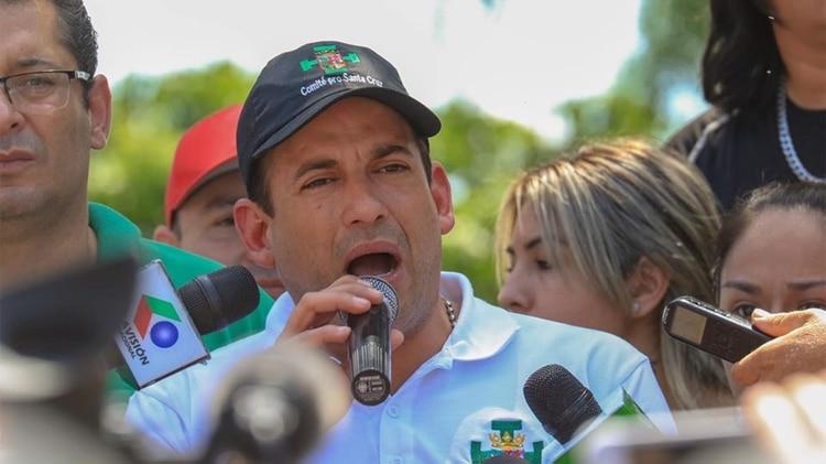Luis Fernando Camacho Bolivia (Crédito: Samy Schwartz)