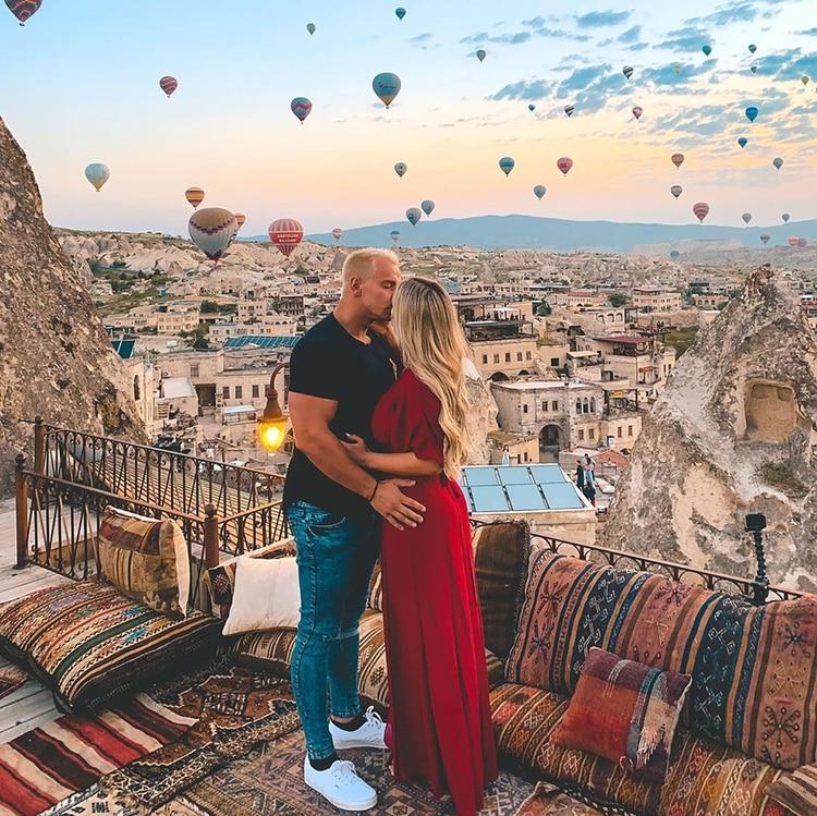 Vitaly y Wolanski son pareja y se muestran juntos en las redes sociales