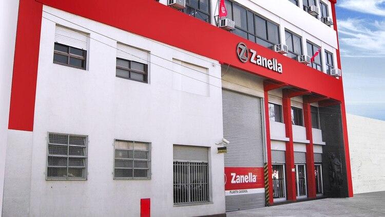 La planta de Zanella está ubicada en Caseros y es la más antigua de la empresa