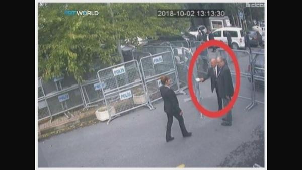 Jamas Khashoggi arriba al consulado saudita el 2 de octubre (Reuters)