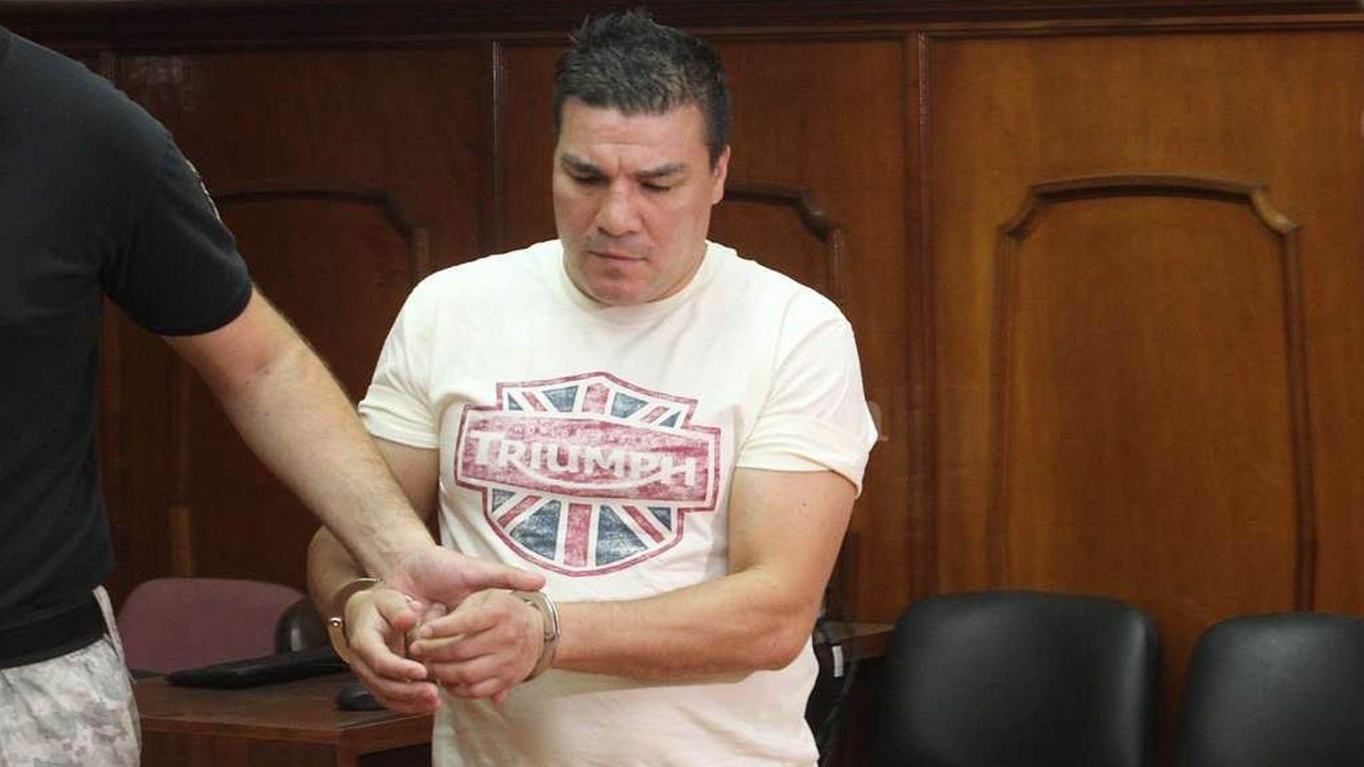 """Carlos """"Tata"""" Baldomir fue detenido en noviembre de 2016 (Foto: La Capital)"""
