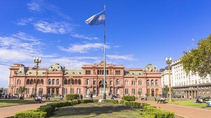 La casa de gobierno es uno de los puntos más imponentes que se puede apreciar desde plaza de Mayo