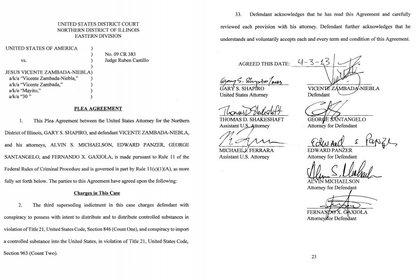 Primer acuerdo en 2013  (Foto: Court of District Illinois)