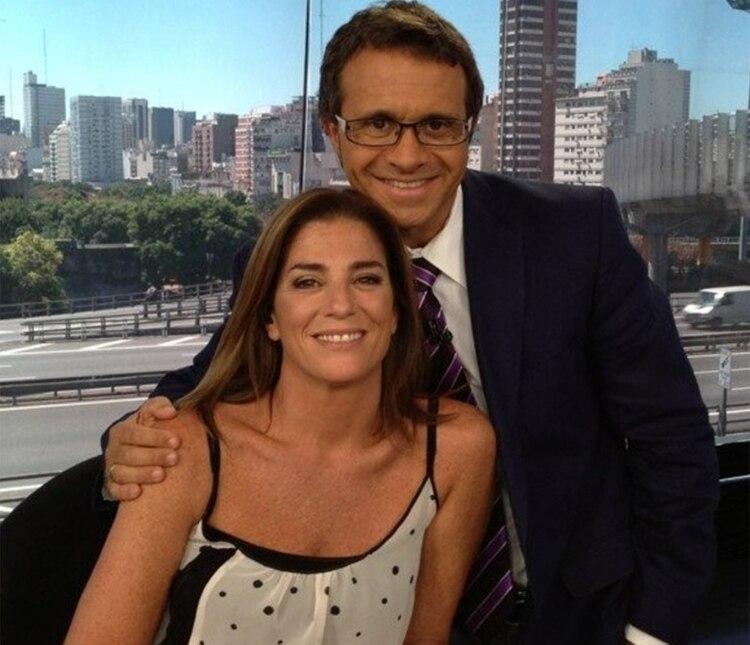 Debora Perez Volpin y Sergio Lapegüe