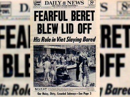 Sus manifestaciones llegaron a las tapas de los periódicos más importantes (Prensa Malba)