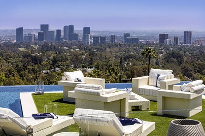 La super vivienda está situada en el exclusivo barrio de Bel Air, en Los Ángeles (BAM Luxury Development)