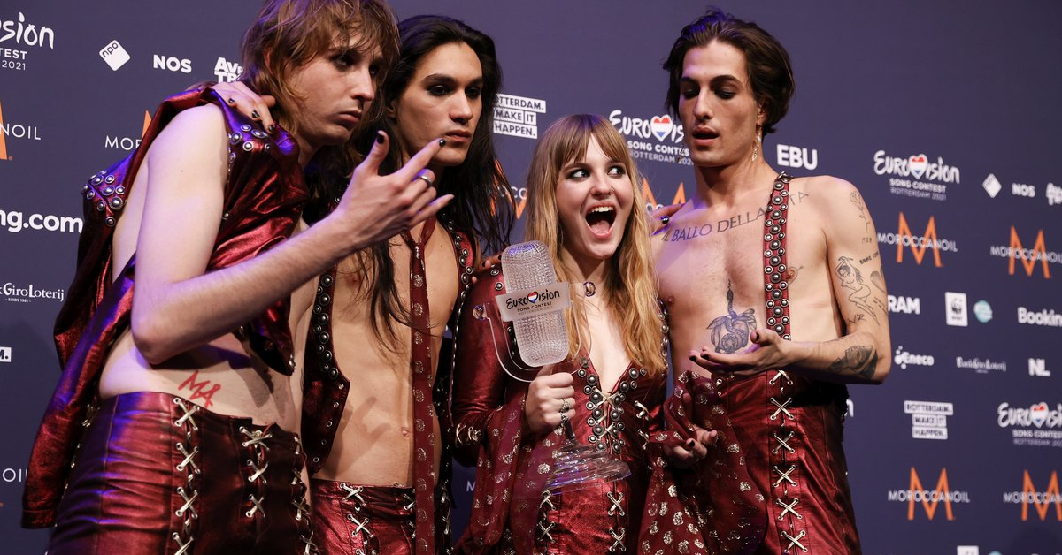 The Italian Government congratulates Maneskin on its victory in Eurovision