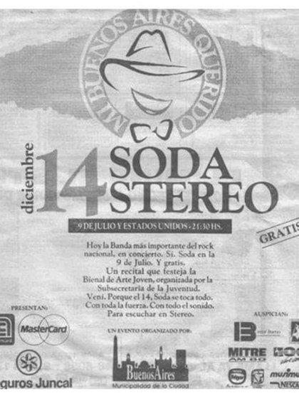 """El afiche del """"Mi Buenos Aires querido II"""""""