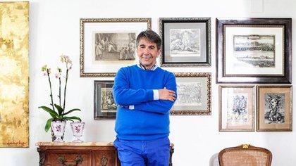 Lorenzo de' Médici en su casa de Portugal