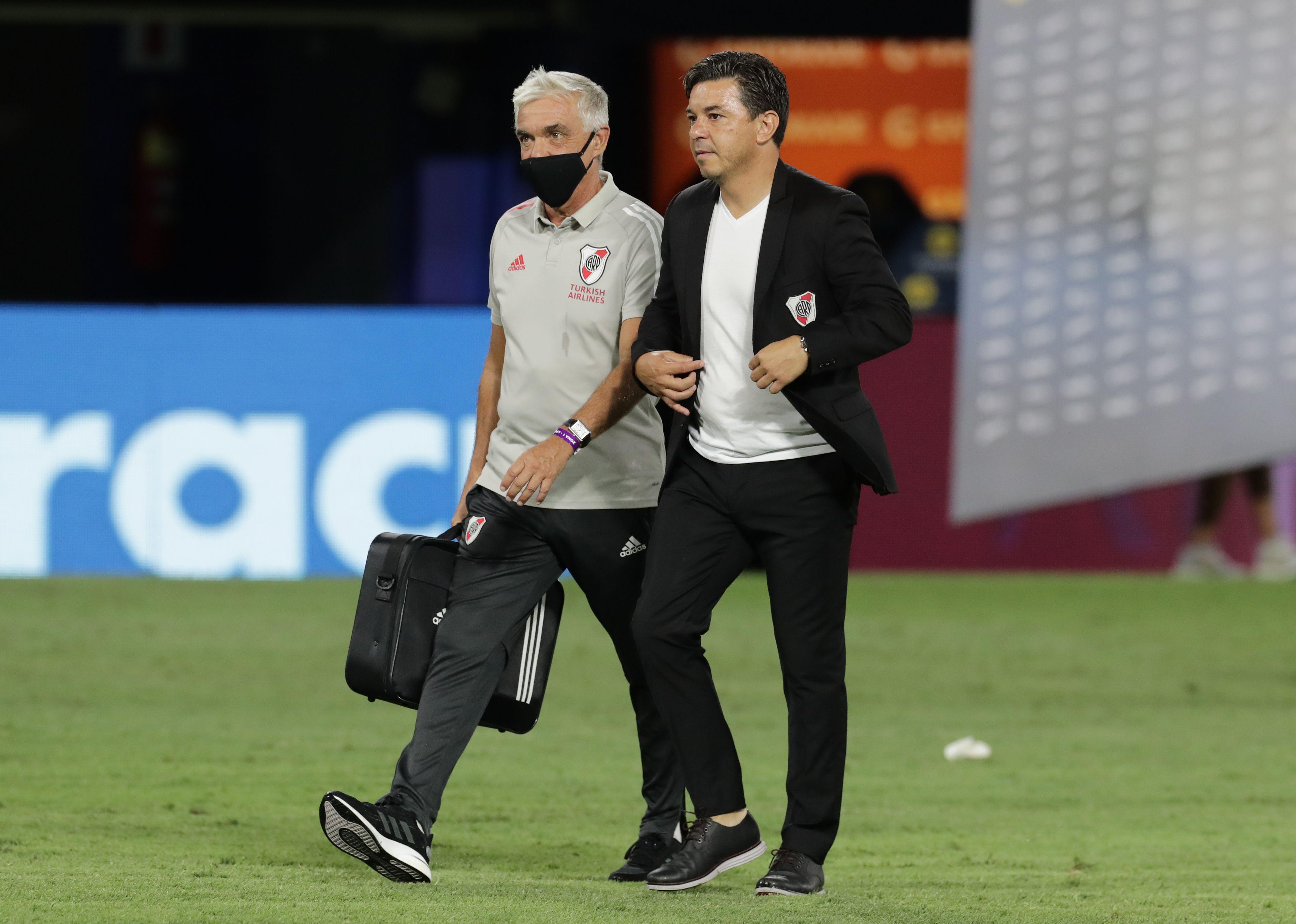 Gallardo aseguró que la ausencia de Cardona benefició a Boca (Reuters)